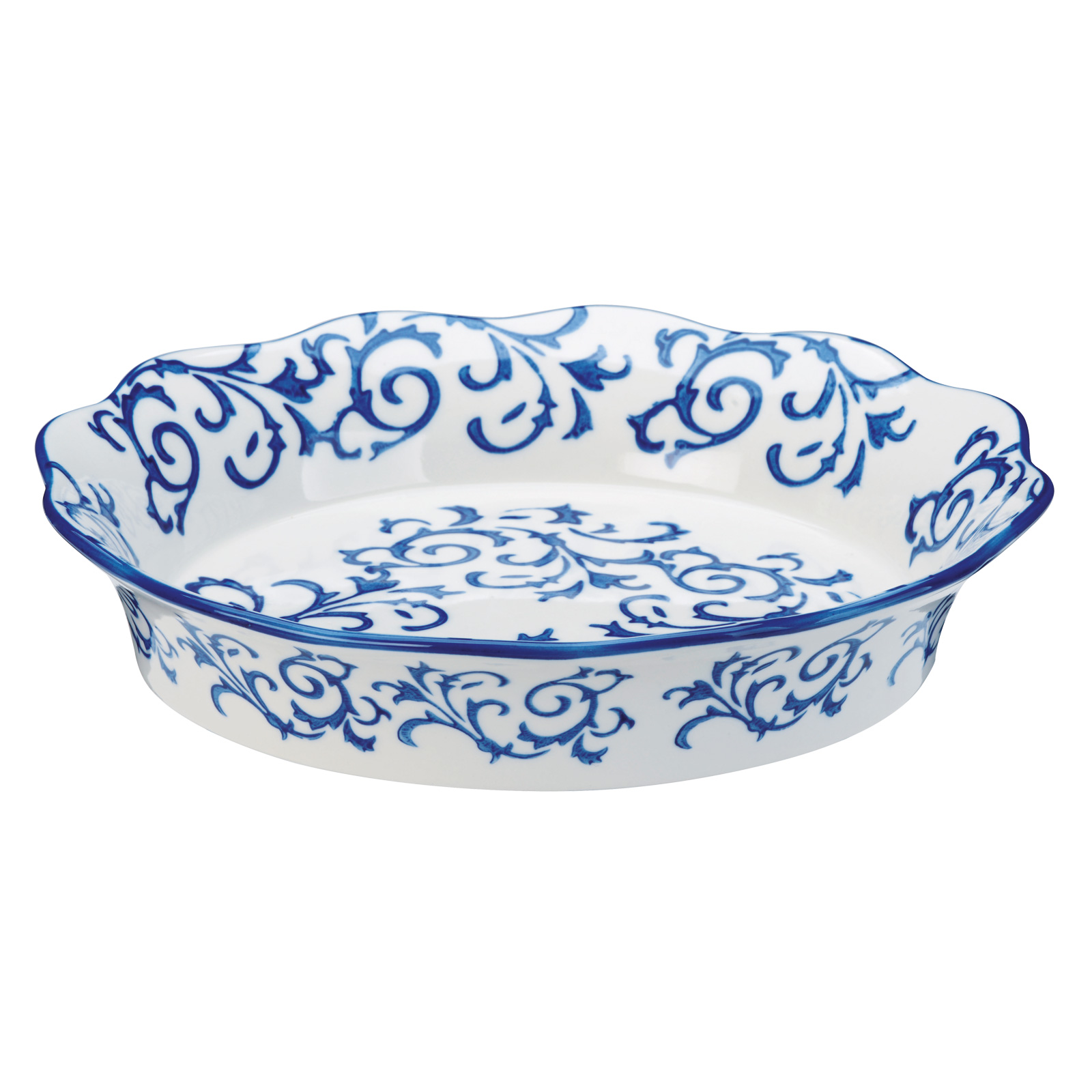 Heritage Pie Dish Blue