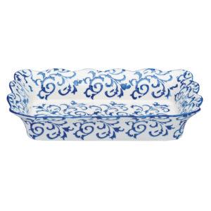 Heritage Rectangular Roaster Blue