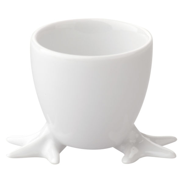 Chicken Feet Egg Cup with White Feet