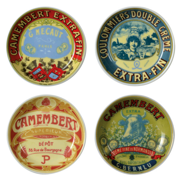 Set of 4 Classic Camembert Chutney Dishes