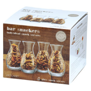 Set of 4 Bar Snackers