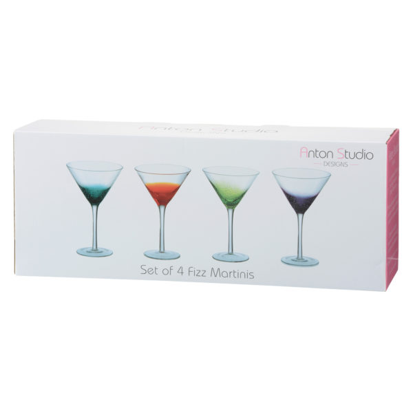 Set of 4 Fizz Cocktail Glasses