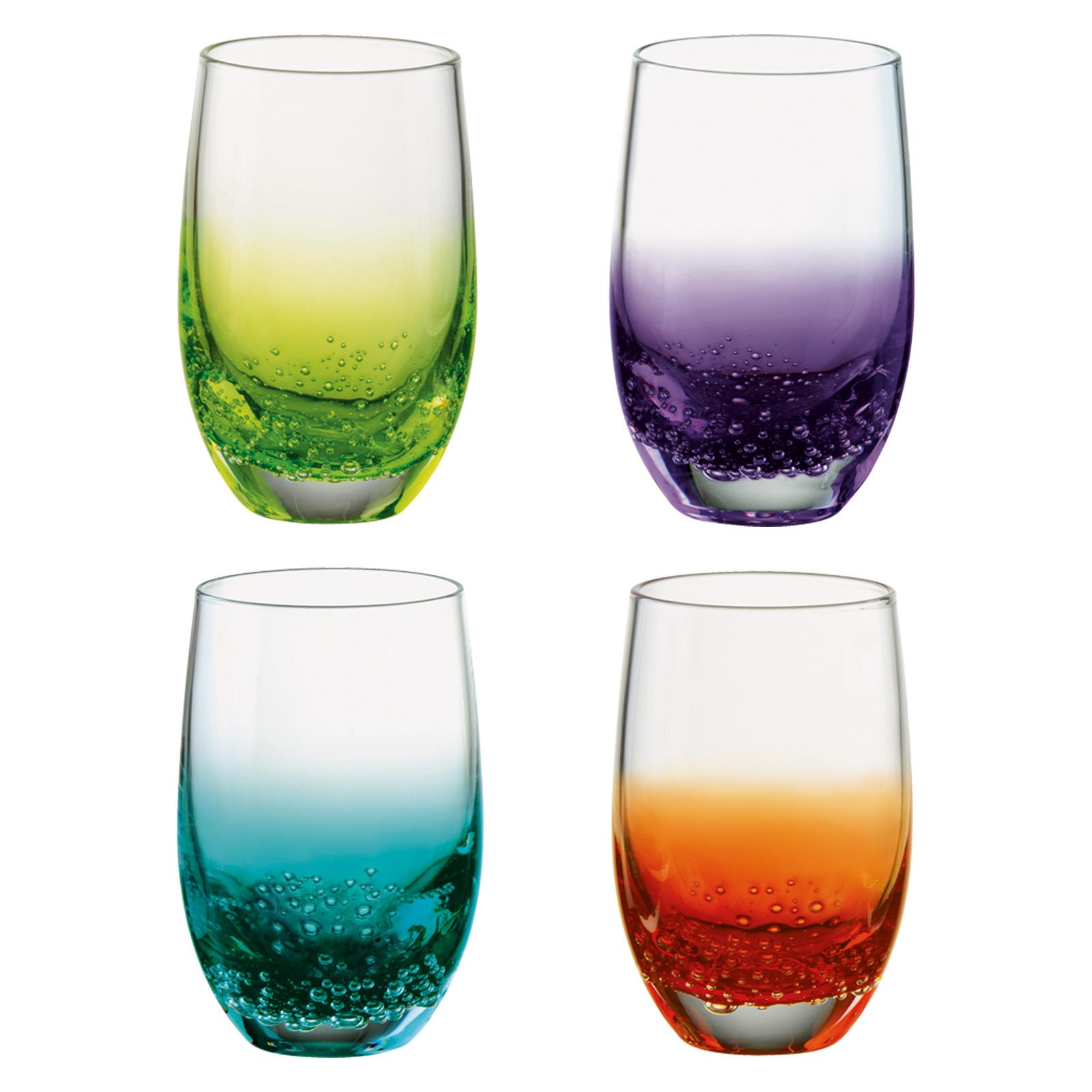 Set of 4 Fizz Shot Glasses