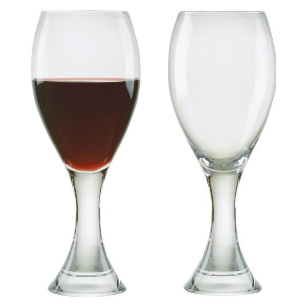 Set of 2 Manhattan Red Wine Glasses