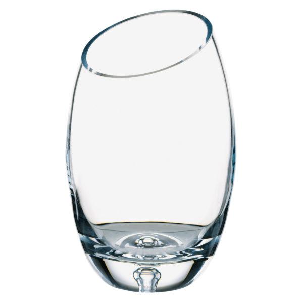 Bubble Base Bias Cut Vase