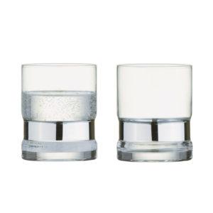 Set of 2 SoHo DOF Tumblers Silver