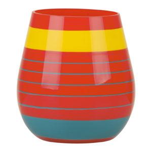 Halo Orange Vase Small